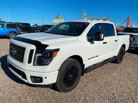 2018 Nissan Titan for sale at Truck Buyers in Magrath AB