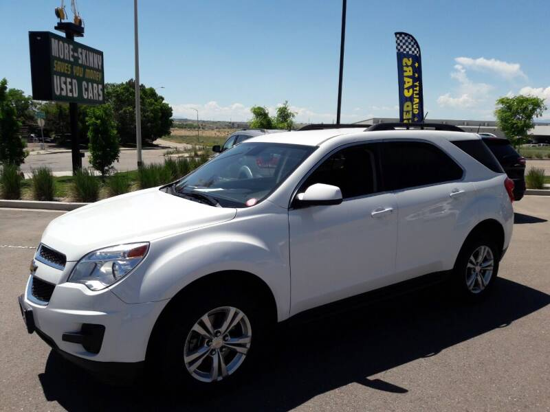 2015 Chevrolet Equinox for sale at More-Skinny Used Cars in Pueblo CO