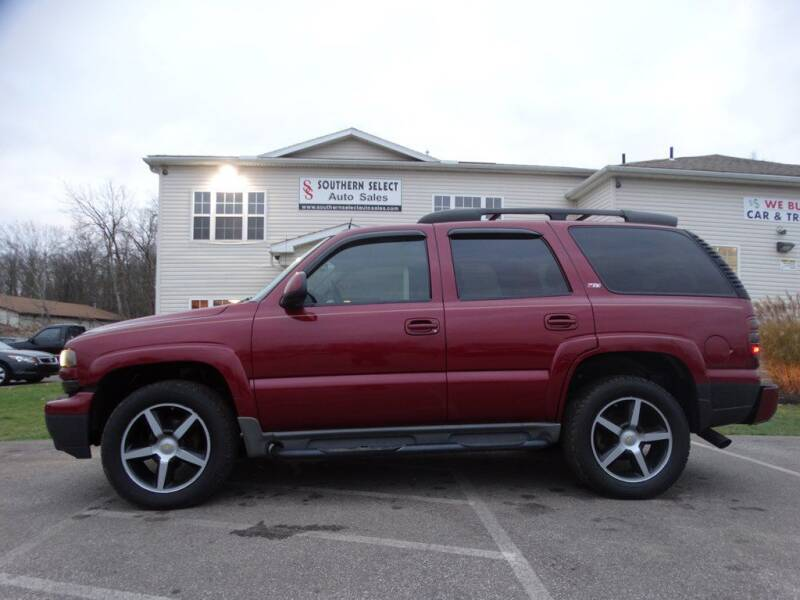 2005 Chevrolet Tahoe for sale at SOUTHERN SELECT AUTO SALES in Medina OH