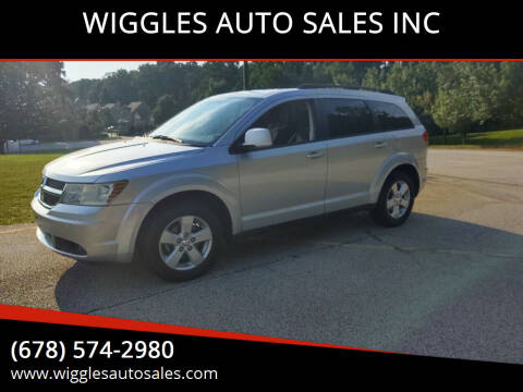 2010 Dodge Journey for sale at WIGGLES AUTO SALES INC in Mableton GA