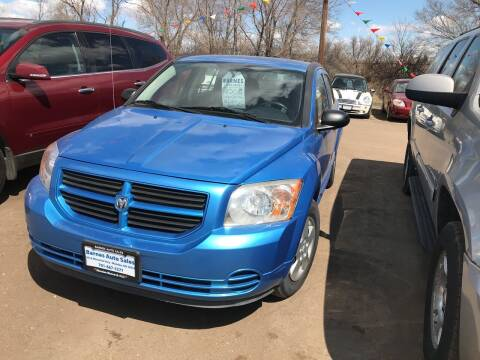 2008 Dodge Caliber for sale at BARNES AUTO SALES in Mandan ND