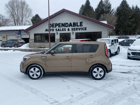 2016 Kia Soul for sale at Dependable Auto Sales and Service in Binghamton NY