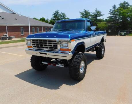 1978 Ford F-250 for sale at WEST PORT AUTO CENTER INC in Fenton MO