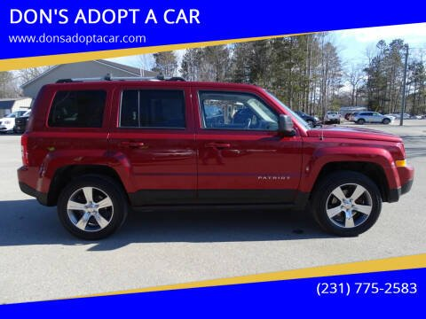 2013 Jeep Patriot for sale at DON'S ADOPT A CAR in Cadillac MI