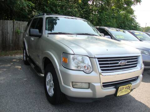 2008 Ford Explorer for sale at Easy Ride Auto Sales Inc in Chester VA