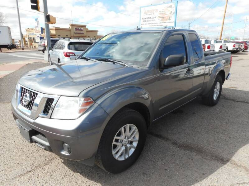 2016 Nissan Frontier for sale at AUGE'S SALES AND SERVICE in Belen NM