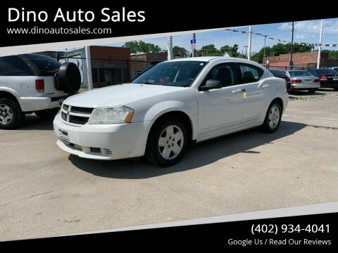 2009 Dodge Avenger for sale at Dino Auto Sales in Omaha NE
