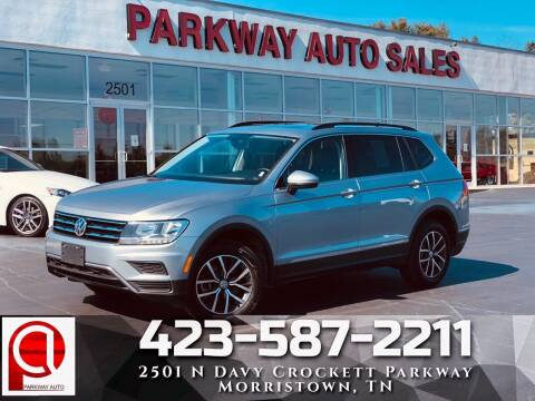 2020 Volkswagen Tiguan for sale at Parkway Auto Sales, Inc. in Morristown TN