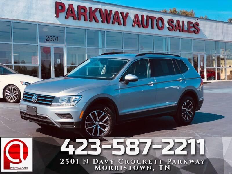 2020 Volkswagen Tiguan for sale at Parkway Auto Sales, Inc. in Morristown TN
