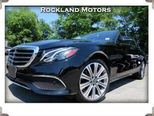2018 Mercedes-Benz E-Class for sale in West Nyack, NY