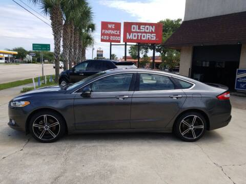 2015 Ford Fusion for sale at Olson Motors LLC in Saint Augustine FL