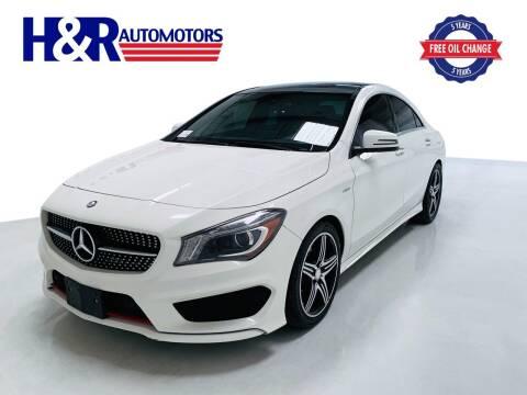 2015 Mercedes-Benz CLA for sale at H&R Auto Motors in San Antonio TX