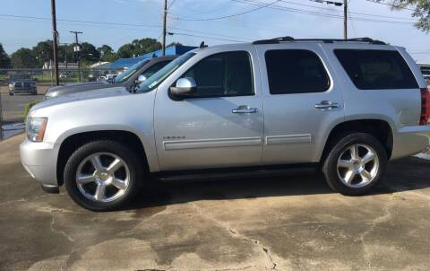 2012 Chevrolet Tahoe for sale at Bobby Lafleur Auto Sales in Lake Charles LA