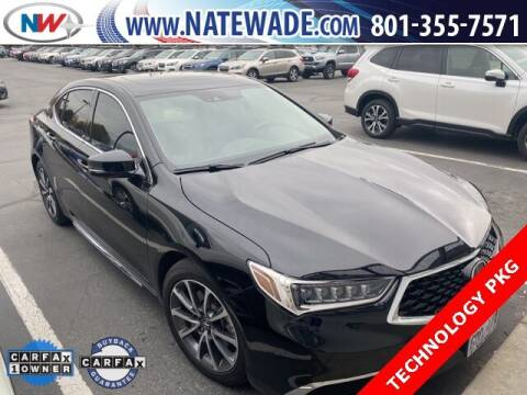2018 Acura TLX for sale at NATE WADE SUBARU in Salt Lake City UT