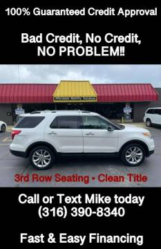 2011 Ford Explorer for sale at Affordable Mobility Solutions, LLC - Standard Vehicles in Wichita KS