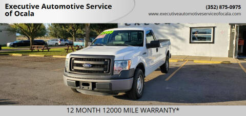 2013 Ford F-150 for sale at Executive Automotive Service of Ocala in Ocala FL