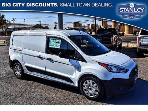 2021 Ford Transit Connect Cargo for sale at STANLEY FORD ANDREWS in Andrews TX
