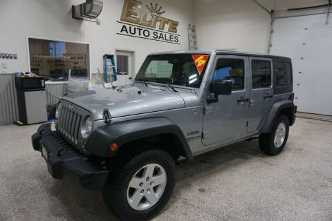 2014 Jeep Wrangler Unlimited for sale at Elite Auto Sales in Idaho Falls ID