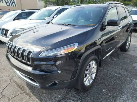 2014 Jeep Cherokee for sale at Castle Used Cars in Jacksonville FL
