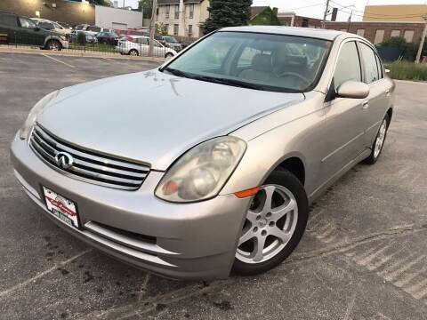 2004 Infiniti G35 for sale at Your Car Source in Kenosha WI