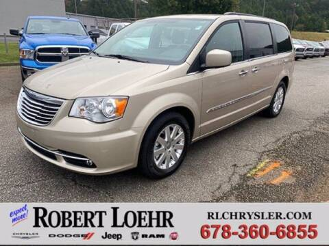 2016 Chrysler Town and Country for sale at Robert Loehr Chrysler Dodge Jeep Ram in Cartersville GA