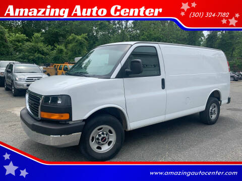 2017 GMC Savana Cargo for sale at Amazing Auto Center in Capitol Heights MD