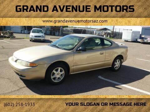 2003 Oldsmobile Alero for sale at Grand Avenue Motors in Phoenix AZ