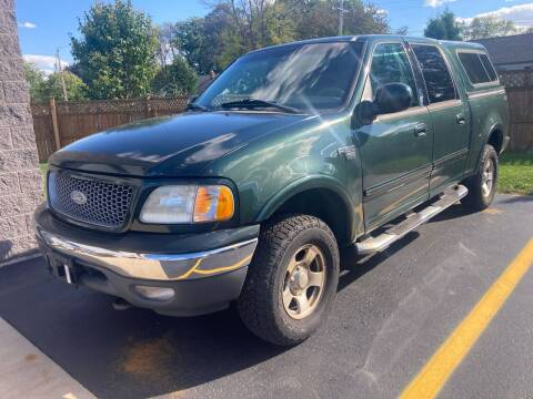 2002 Ford F-150 for sale at RABIDEAU'S AUTO MART in Green Bay WI