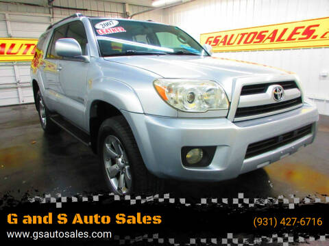 2007 Toyota 4Runner for sale at G and S Auto Sales in Ardmore TN