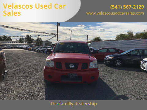2006 Nissan Titan for sale at Velascos Used Car Sales in Hermiston OR