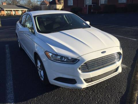 2013 Ford Fusion for sale at DEALS ON WHEELS in Moulton AL