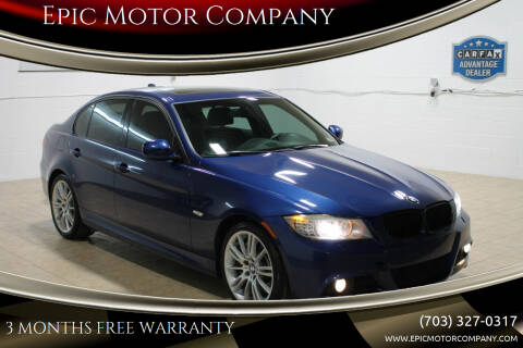 2011 BMW 3 Series for sale at Epic Motor Company in Chantilly VA
