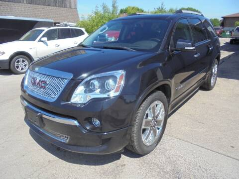 2011 GMC Acadia for sale at Century Auto Sales LLC in Appleton WI