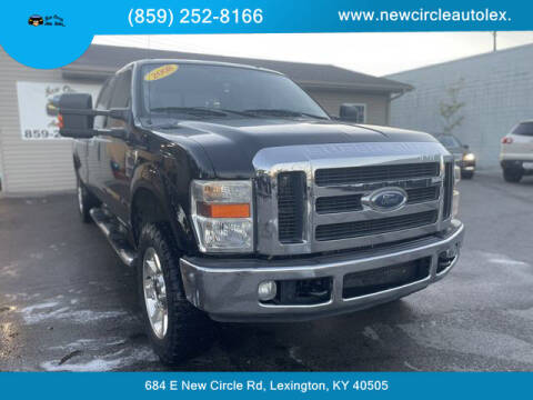 2008 Ford F-250 Super Duty for sale at New Circle Auto Sales LLC in Lexington KY