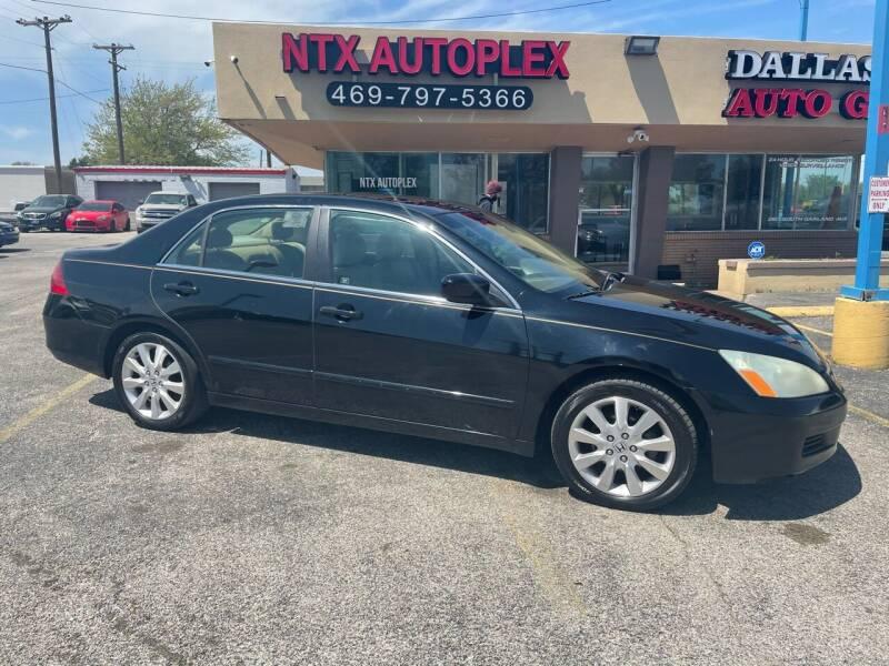 2007 Honda Accord for sale at NTX Autoplex in Garland TX