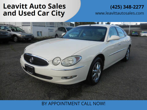 2005 Buick LaCrosse for sale at Leavitt Auto Sales and Used Car City in Everett WA