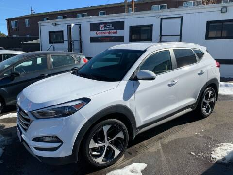 2018 Hyundai Tucson for sale at McManus Motors in Wheat Ridge CO