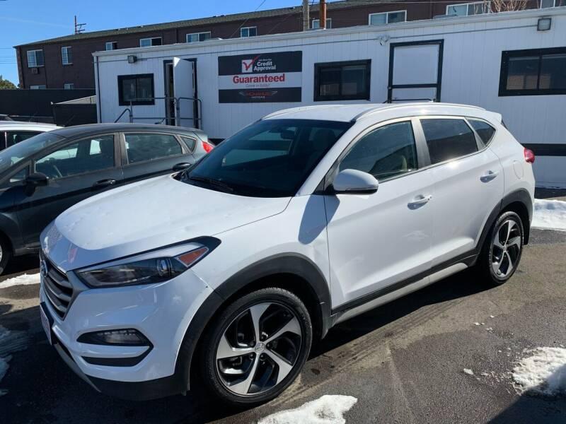 2018 Hyundai Tucson for sale at McManus Motors in Wheat Ridge CO