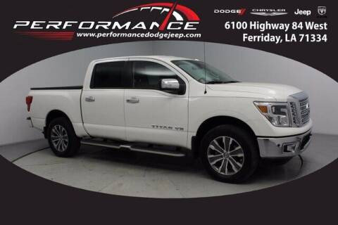 2019 Nissan Titan for sale at Performance Dodge Chrysler Jeep in Ferriday LA