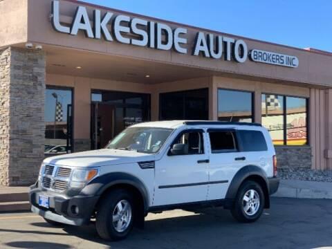 2007 Dodge Nitro for sale at Lakeside Auto Brokers Inc. in Colorado Springs CO
