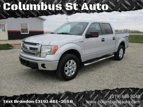 2013 Ford F-150 for sale at Columbus St Auto in Crawfordsville IA