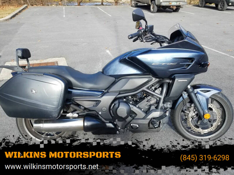 2015 Honda CTX700 Automatic ABS for sale at WILKINS MOTORSPORTS in Brewster NY