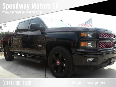 2015 Chevrolet Silverado 1500 for sale at Speedway Motors TX in Fort Worth TX