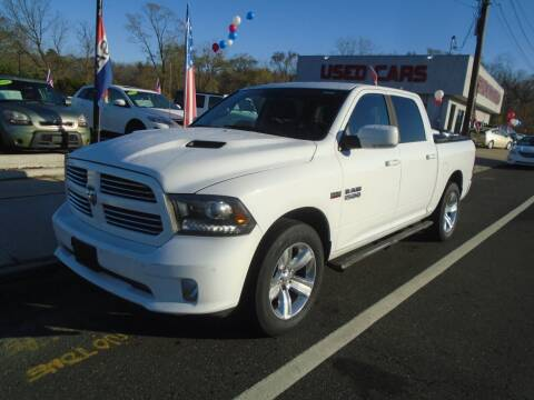 2015 RAM Ram Pickup 1500 for sale at Island Auto Buyers in West Babylon NY