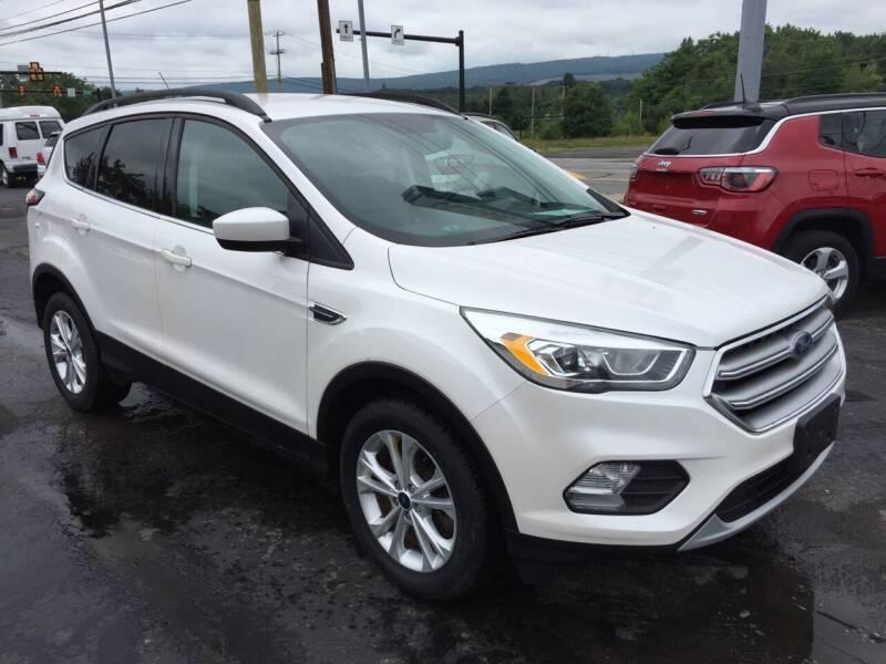 2017 Ford Escape for sale at Rinaldi Auto Sales Inc in Taylor PA
