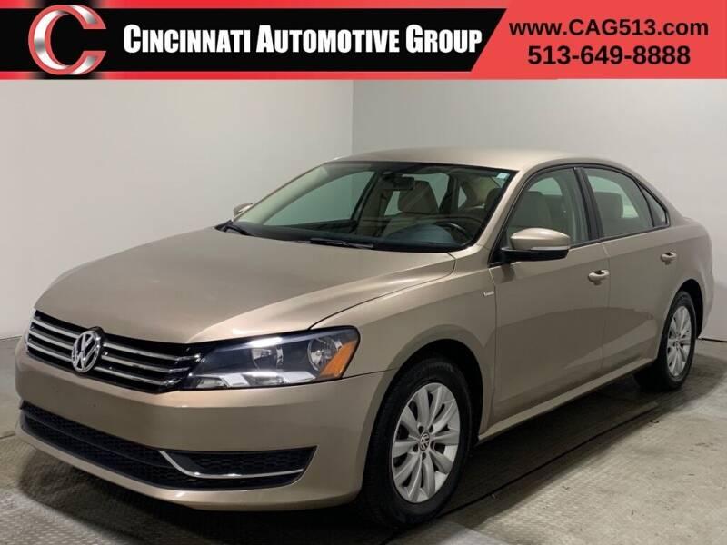 2015 Volkswagen Passat for sale at Cincinnati Automotive Group in Lebanon OH