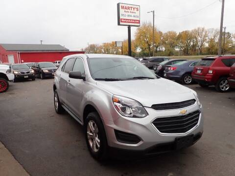 2016 Chevrolet Equinox for sale at Marty's Auto Sales in Savage MN
