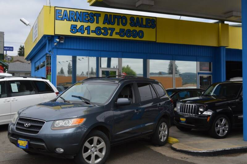 2007 Hyundai Santa Fe for sale at Earnest Auto Sales in Roseburg OR