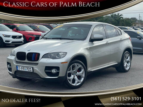 2008 BMW X6 for sale at Classic Cars of Palm Beach in Jupiter FL