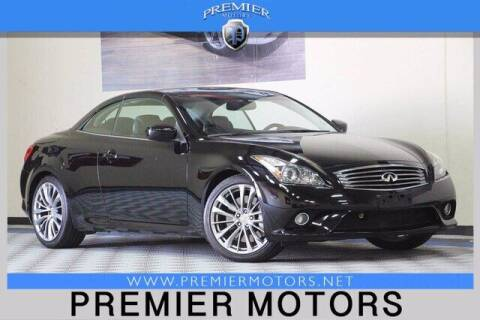 2013 Infiniti G37 Convertible for sale at Premier Motors in Hayward CA
